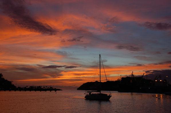 """Angekommen""....St.George´s / Grenada"