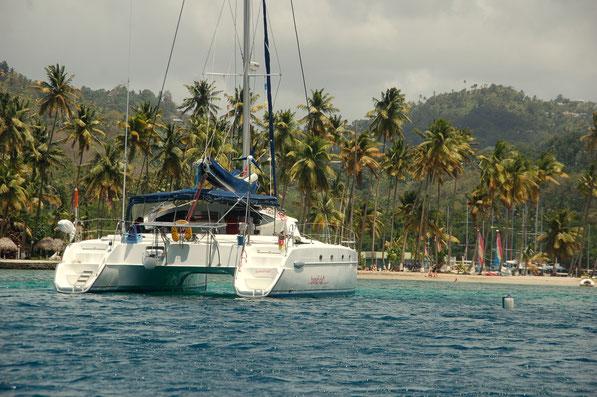 In der Marigot-Bay  St.Lucia, Karibik