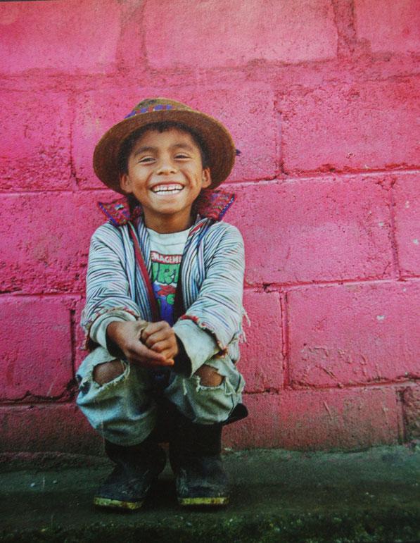 Stellvertretend für die vielen unglaublich freundlichen Guatemalteken.  Hier macht es Spass zu reisen.