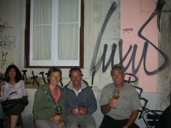 Ein Vino zusammen mit Lars von der Carpe Diem
