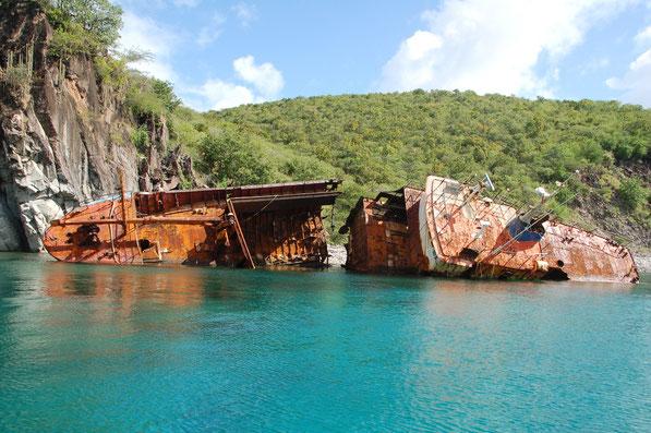 An Land gespült......  Nevis Island ( Nevis & St.Kitts )