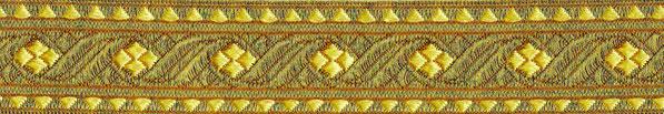 'Goldene Brokatborte' 30mm (+ 3,00€)