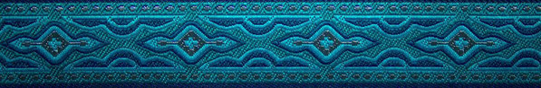 'Lava' petrol-blau - 25 mm