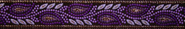 'Zauberranken' lila - 19 mm