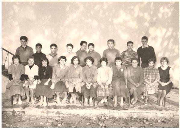 1958-59 classe de troisième