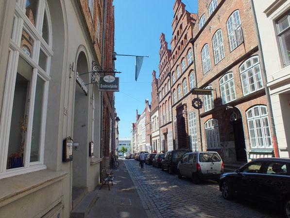 une rue pittoresque à Lübeck