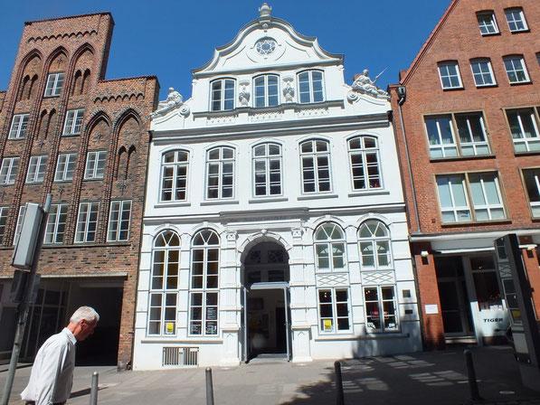 la maison de Thomas Mann à Lübeck