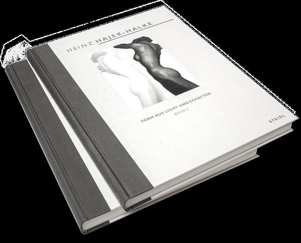Heinz Hajek-Halke, Form aus Licht und Schatten, Artist, Anarchist, Cover, Buch, Book, Katalog, Catalogue, Layout, Gestaltung, Buchgestaltung, Typografie, Typography, claasbooks, Claas Möller
