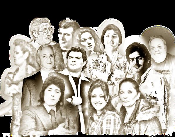 José A. de La Loma, José Torregrosa, Isabel González, Julio González, A. Humanes, Pedro Cordero, Araceli Borja, Eduardo Guervós, Junior, El Chicho, Juan A. Jimenez, Milagros y Nieves González Todo lo que a significado en la historia de Los Chichos, Manage
