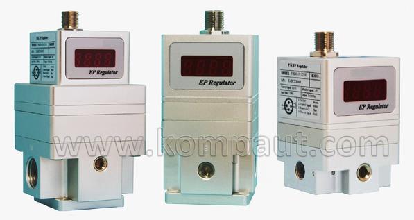 Kompaut, valvola regolatore di pressione proporzionale a controllo elettronico.