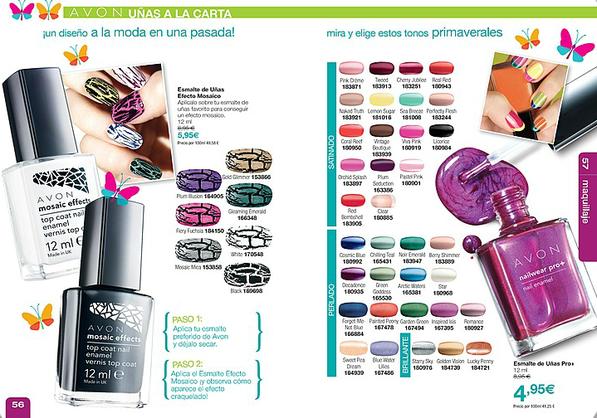Avon Esmalte de uñas Nailwear pro+