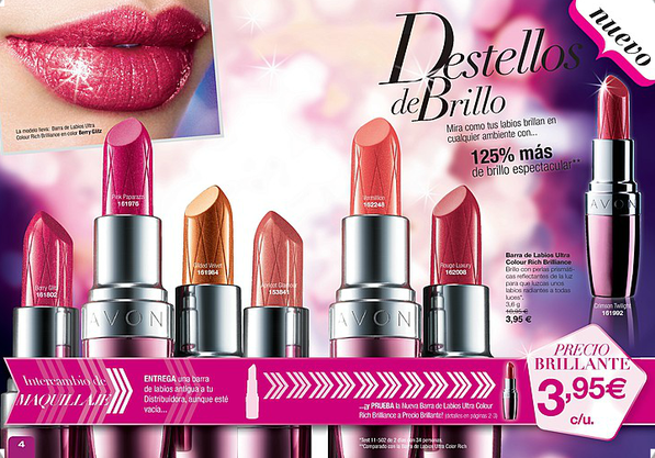 Barra de labios Ultra Colour Rich Brillance