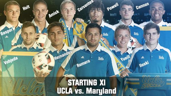 UCLAのスターディングメンバーにはゼスト戦士2名が名をつらねる。