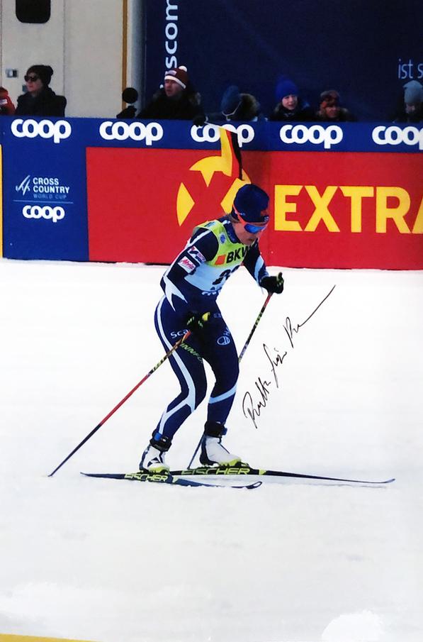Autograph Riitta Liisa Roponen Autogramm