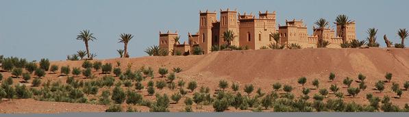 Maroc, Ouarzazate, kasbah, cinéma, désert,
