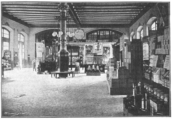 1917 год. Первая Международная Торговая Ярмарка в вестибюле Станции Северного Вокзала