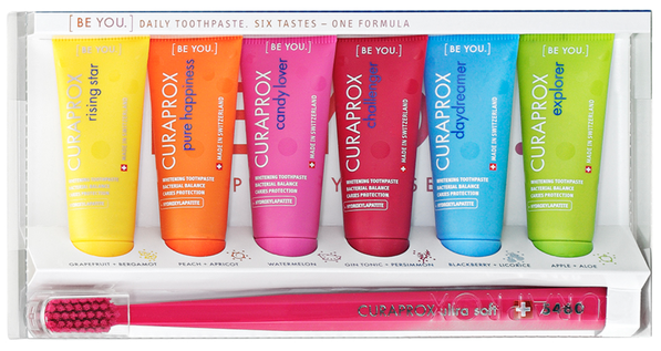 dentifrice curaprox be you