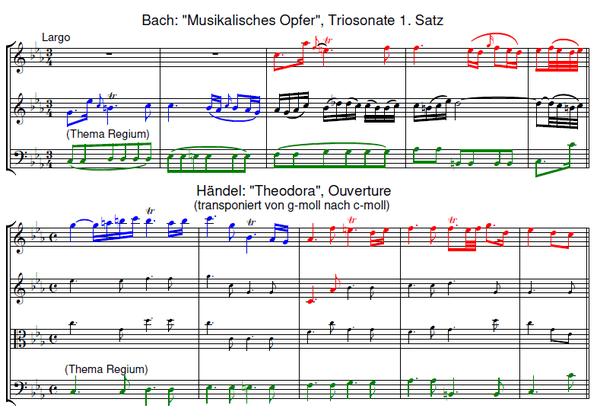 Musikalisches Opfer | Bach und Händel | Bach and Handel