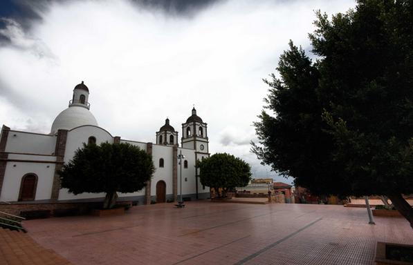 Plaza e Iglesia de La Candelaria. Villa de Ingenio. Gran Canaria
