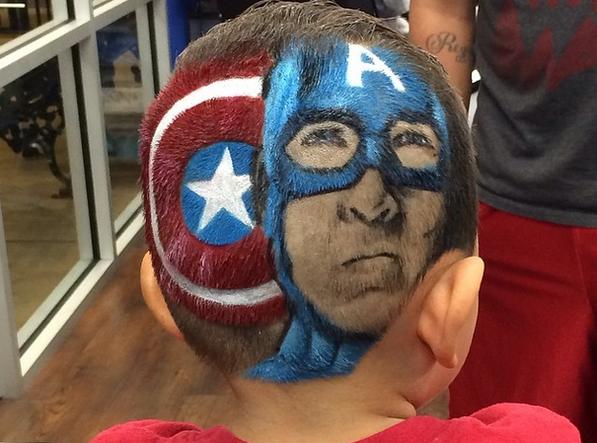 Capitán América. Fuente: Instagram