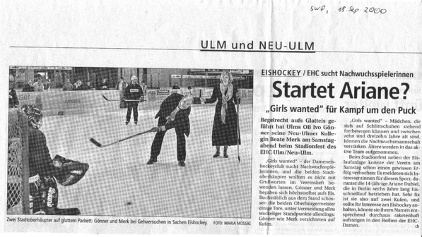 EHC Ulm / Neu-Ulm in der SWP