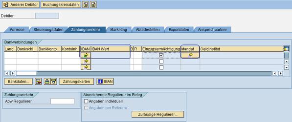 SEPA SAP Verwendung Mandate www.hettwer-beratung.de