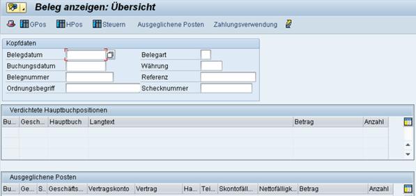 SEPA SAP FS-CD Lastschriftbeleg www.hettwer-beratung.de