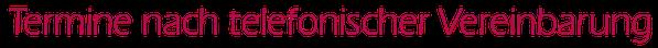 Terminvereinbarung, Mag. Monika Roth, Kleintierärztin in Groß Siegharts, Waldviertel, Niederösterreich, Bezirk Waidhofen an der Thaya