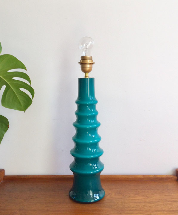 lampe 70's, lampe vintage, lampe murano,