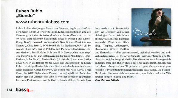 BassQuarterly Mazine from Germany