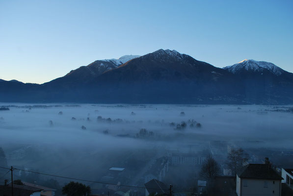 Monte Tamaro mit Nebelmeer