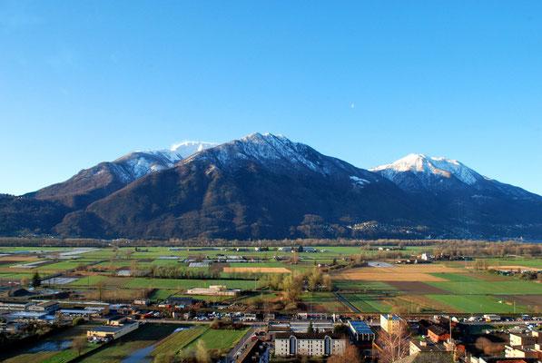 Monte Tamaro, Monte Cimetto, Monte Gamborogno