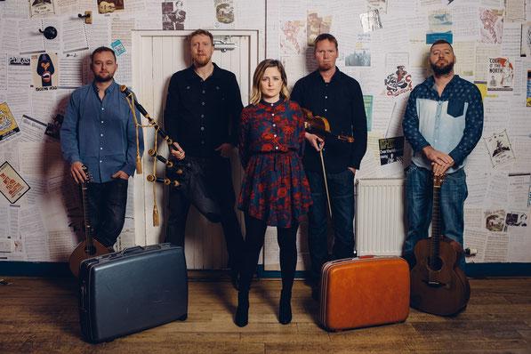 Das schottische Quintett Daimh