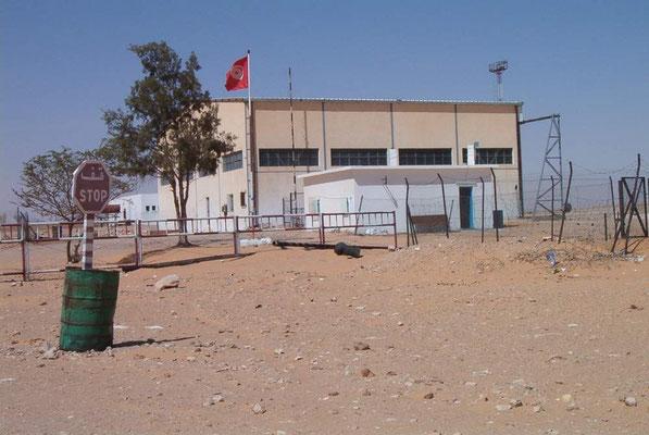 Die Polizeistation von El Borma