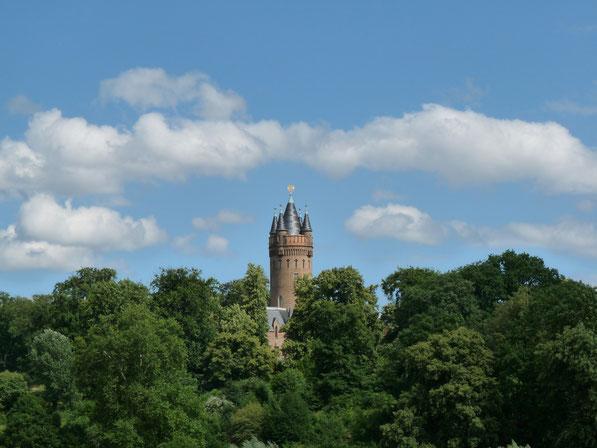 """Park Babelsberg met """"Flatowturm"""""""