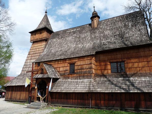 Houten kerk in Debno