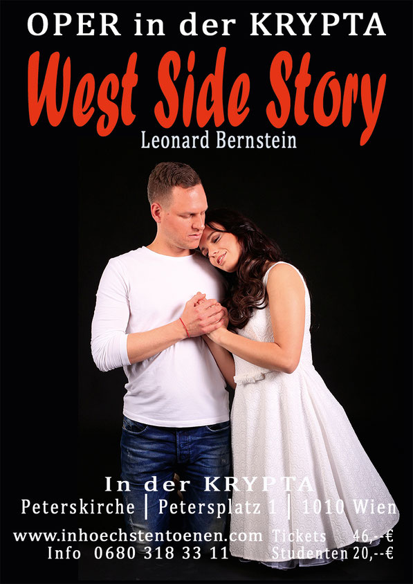 WEST SIDE STORY, Leonard Bernstein in der Krypta
