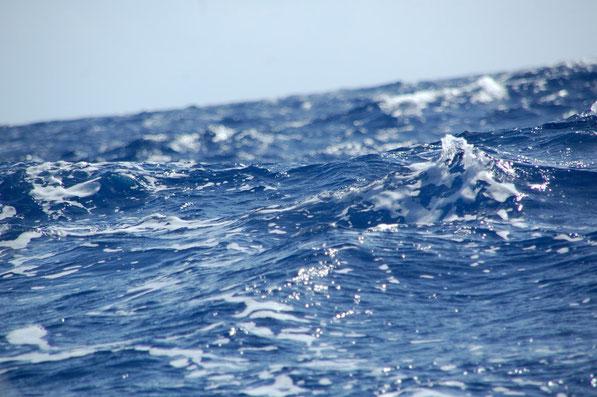 Unglaublich, wie viel Bewegung und Energie in diesen Wassermassen steckt.