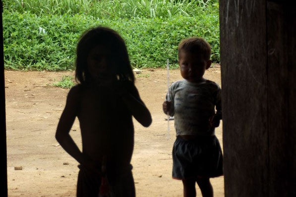 Sanöma/Yanomami kids Silvia Guimarães, 2018. 3 Sanöma/Yanomami babies who died at Boa Vista hospital after contracting Covid-19 were buried without the mother's consent. For the Yanomami, the funeral ceremony is essential to enter into the spiritual world