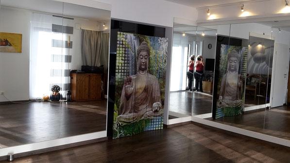 Raum für Tanz und Meditation