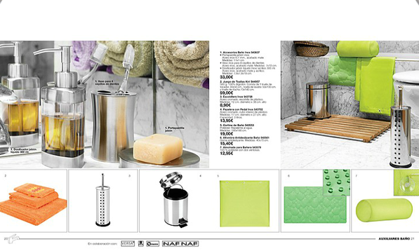 Pincha en la imagen para abrir el catálogo hogar 3-6 Avon