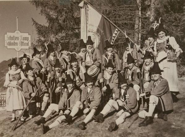 Schützenkompanie Schlaiten um 1936