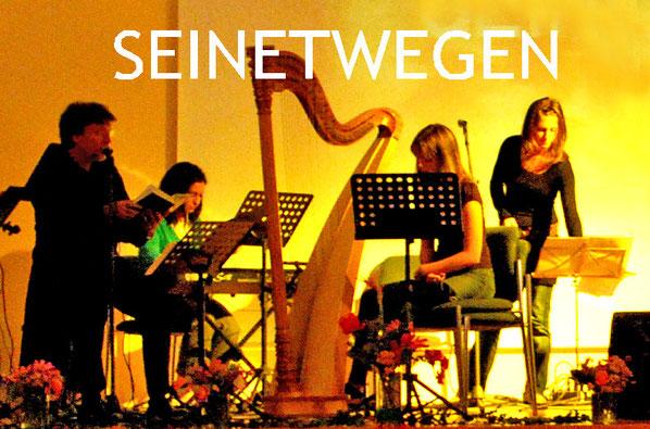 In musikalischer Begleitung von Nazanin, Elli u. Brigitta. Foto: Daniela Dittmann