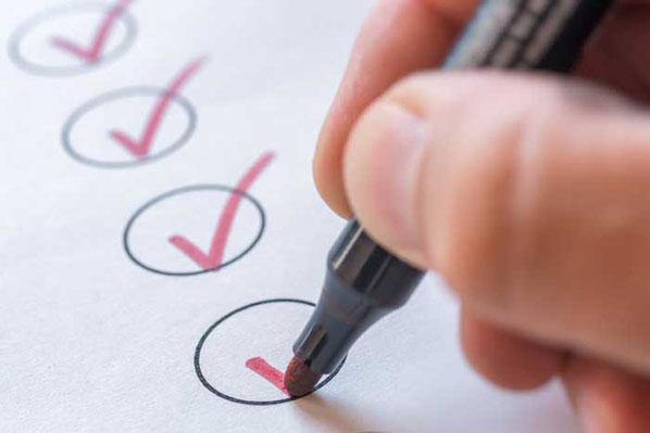 Unser Nachfolge-Check hilft Ihnen dabei, Ihre Unternehmensnachfolge erfolgreich zu regeln