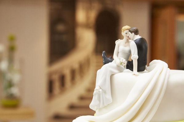 Hochzeitstorte, Torte, Tortendeko