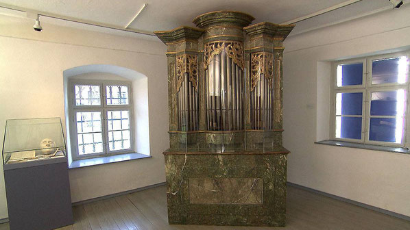 Die Liszt-Orgel stand bis November 2016 in Raiding ©ORF