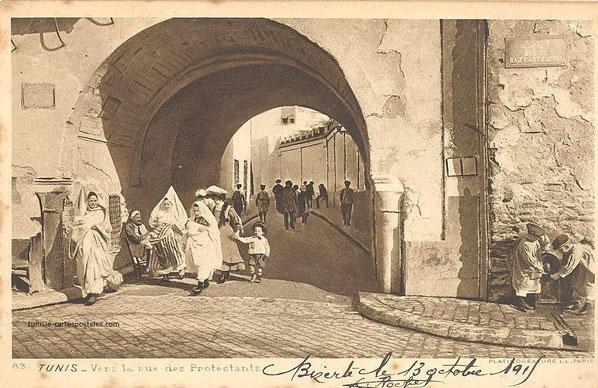 rue Carthagena vers rue des protestants