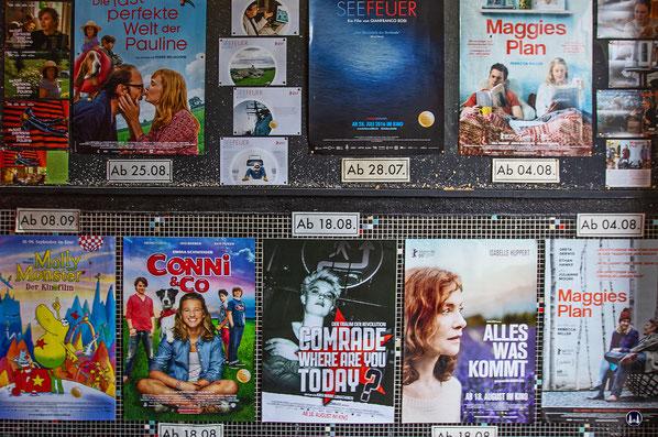 Der Vorraum des Kino Moviemento in Berlin - Kreuzberg.