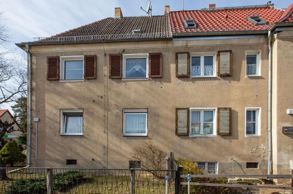 Originalzustand der GAGFAH-Häuser in Blankenfelde-Mahlow.