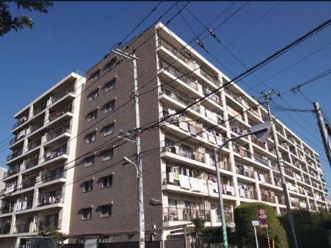 狛江市の中古マンション ワコーレ狛江ガーデン【4階・3LDK・78.32㎡】 外観